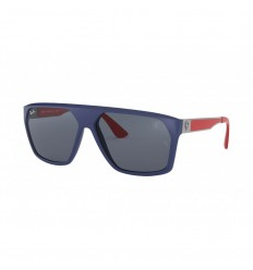 Gafas de sol RAY BAN Ferrari 4309M Azul Gunmetal - Gris Clásico (F60487)