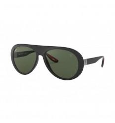 Gafas de sol RAY BAN Ferrari 4310M Negro - Verde Clásico (F60271)