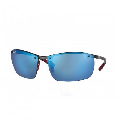 Gafas de sol RAY BAN Ferrari 8305M Negro - Azul Mirror Chromance (F005H0)