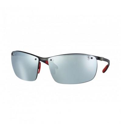 Gafas de sol RAY BAN Ferrari 8305M Negro - Plata Mirror Chromance (F005H1)
