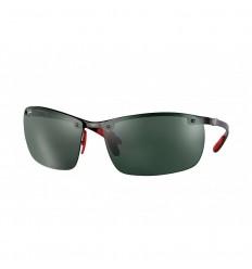 Gafas de sol RAY BAN Ferrari 8305M Negro - Verde Clásico (F00571)