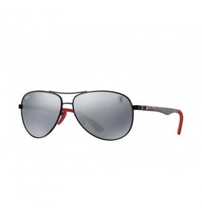 Gafas de sol RAY BAN Ferrari 8313M Negro - Gris Espejado (F0096G)