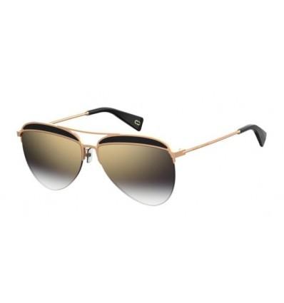 Gafas de Sol MARC JACOBS 268S Medium Rose Gold Black - Grey Gold Shaded (807-FQ A)