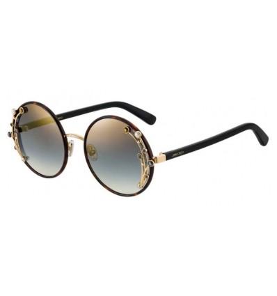 Gafas de sol JIMMY CHOO GEMA Dark Havana - Grey Gold Gradient Mirror (086-FQ)
