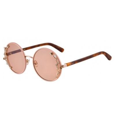 Gafas de sol JIMMY CHOO GEMA Nude - Pink Silver Flash (FWM-2S)