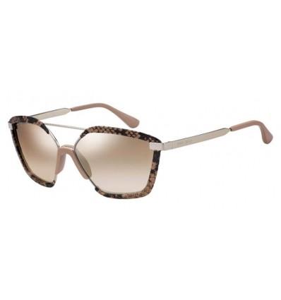 Gafas de sol JIMMY CHOO LEON Pink - Brown Silver Mirror Gradient (35J-NQ)