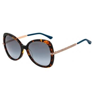 Gafas de sol JIMMY CHOO CRUZ Dark Havana - Grey Azure Gradient (086-GB)