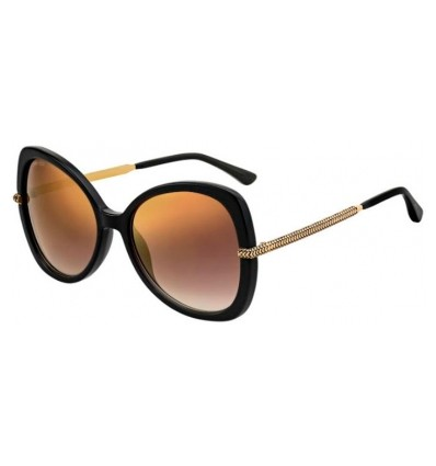 Gafas de sol JIMMY CHOO CRUZ Black - Brown Gold Gradient (807-JL)