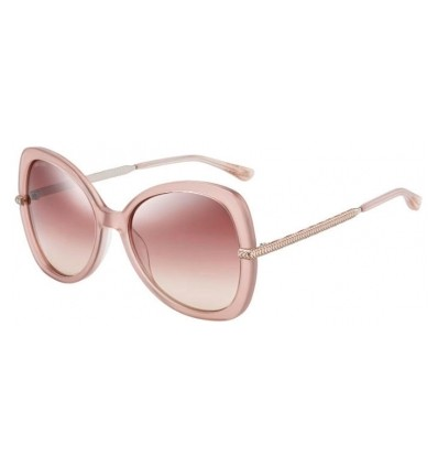 Gafas de sol JIMMY CHOO CRUZ Nude - Brown Silver Mirror Gradient (FWM-NQ)