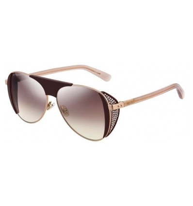Gafas de sol JIMMY CHOO RAVE Plum - Brown Silver Mirror Gradient (0T7-NQ)