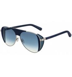 Jimmy Choo Estelle/S ENZ/QH Sunglasses ($325) liked on