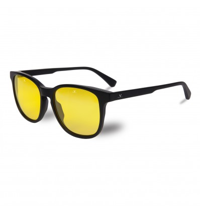 Gafas de sol Vuarnet VL1618 District Carreé Nightlynx - Negro Mate (0009 - 8184)
