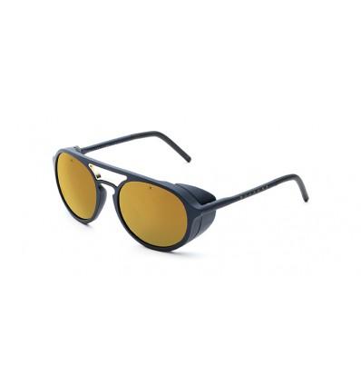 Gafas de sol Vuarnet VL1709 Vuarnet Ice Pure Brown Bronze Flashed - Azul Metalizado + Inserción Metal Oro (0016 -2129)