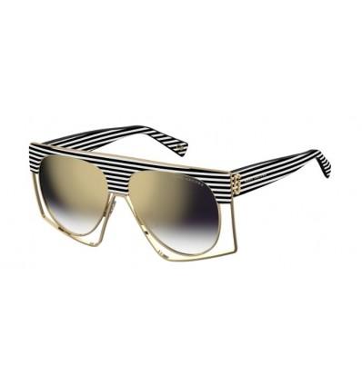 Gafas de Sol MARC JACOBS 312S White Striped - Grey Shadded (7LL-FQ)