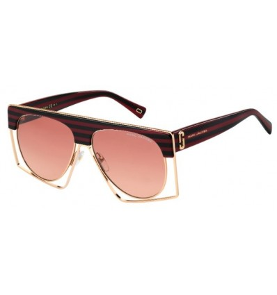 Gafas de Sol MARC JACOBS 312S Stiped Burgundy - Pink Shadded (KVN-3X )