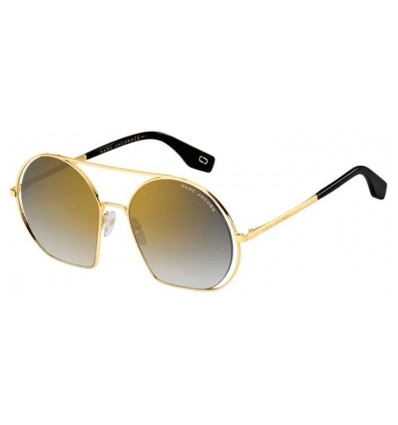 Ulleres de Sol MARC JACOBS 325S Antique Gold - Grey Gold Mirror Gradient (2F7-FQ )