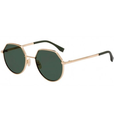 Gafas de sol Fendi FF M0029S Rose Gold - Green (000-QT )