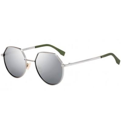 Gafas de sol Fendi FF M0029S Ruthenium - Silver Mirror (6LB-T4)