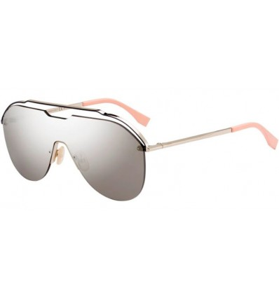 Gafas de sol Fendi FF M0030S Light Gold - Grey Ivory Mirror (3YG-UE)