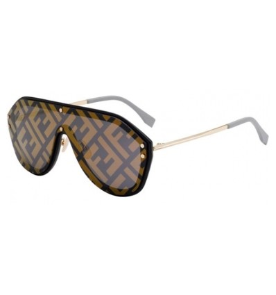 Gafas de sol Fendi FF M0039S Black Gold - Gold Decored (2M2-7Y)