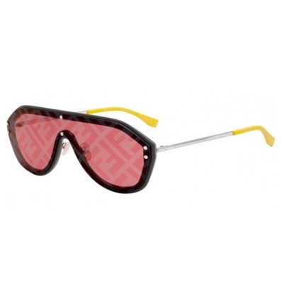 Gafas de sol Fendi FF M0039S Grey - Gold Decored (KB7-7Y)