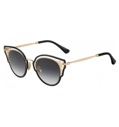 Gafas de sol JIMMY CHOO DHELIA Black Gold - Dark Grey Gradient (2M2-9O)