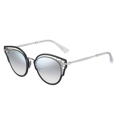 Gafas de sol JIMMY CHOO DHELIA Black Ruthenium - Grey Gradient Silver Mirror (284-IC)