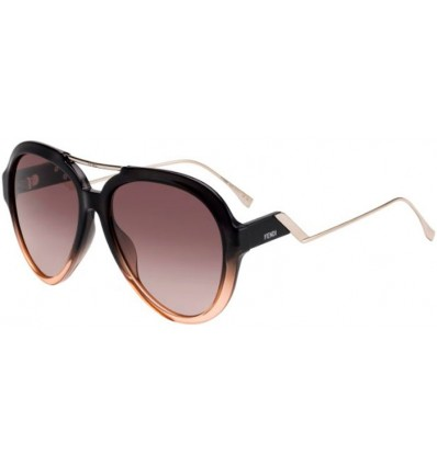 Gafas de sol Fendi FF M00322G S Grey Pink - Brown Gradient (7HH-HA )