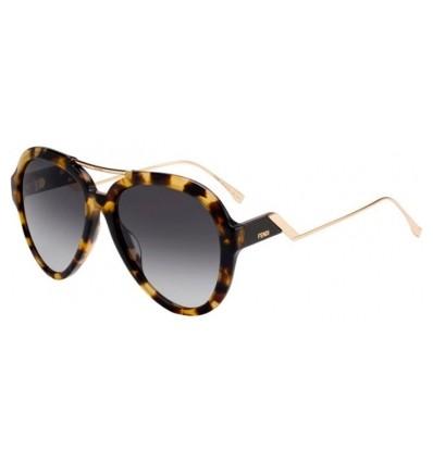 Gafas de sol Fendi FF M00322G S Dark Havana - Dark Grey Gradient (086-9O)