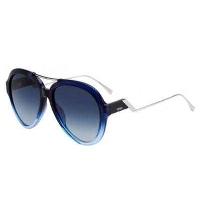 Gafas de sol Fendi FF M00322G S Blue Azure - Dark Blue Gradient (ZX9-08)