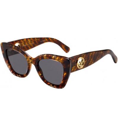 Gafas de sol Fendi FF 0327S Dark Havana - Grey (086-IR)