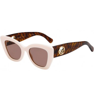 Gafas de sol Fendi FF 0327S White - Brown (VK6-70)