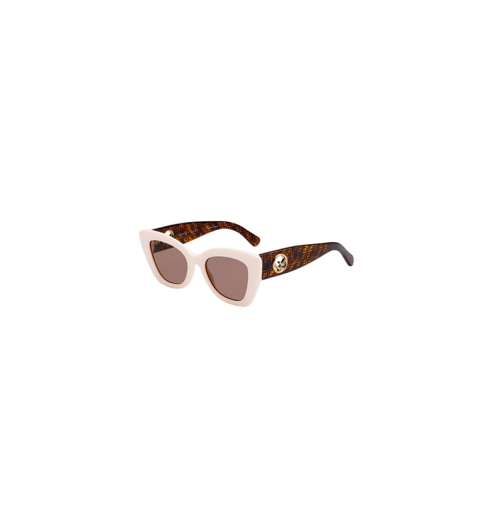 953f1c700ce Gafas de sol Fendi FF 0327S White - Brown. Comprar Online