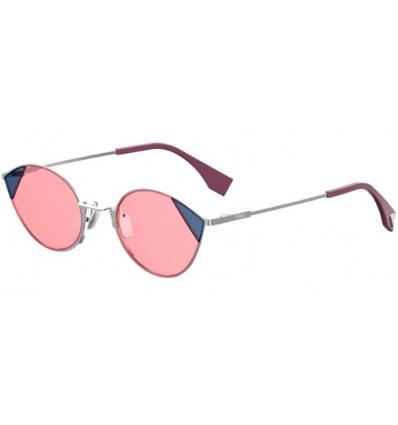 Gafas de sol Fendi FF0342S Silver Pink - Pink (AVB-U)