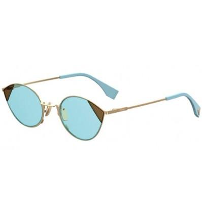 Gafas de sol Fendi FF0342S Gold Azure- Azure (QWU-1P)