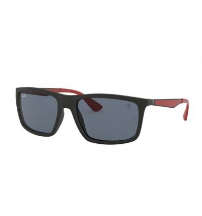 Gafas de sol RAY BAN Ferrari 4228M Negro Mate - Gris Oscuro (F60287)
