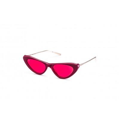 Gafas de sol GiGi Barcelona Jane Dorado - Rojo (6344-6)