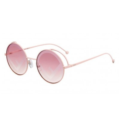 Ulleres de sol Fendi FF0343S Pink - Brown (35J-01)