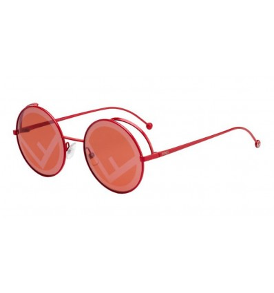 Ulleres de sol Fendi FF0343S Red - Red Decorated (C9A-0L)