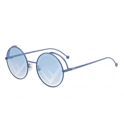 Gafas de sol Fendi FF0343S Azure - Blue Silver Decorated (MVU-7R)