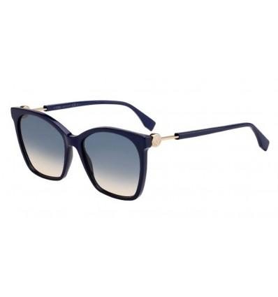 Gafas de sol Fendi FF0344S Blue - Blue Ds Peach (PJP-I4)