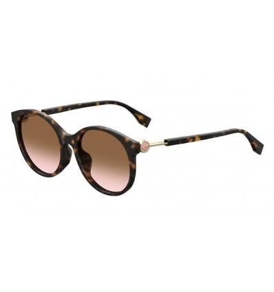 Ulleres de sol Fendi FF0362S Dark Havana - Brown Pink Sfumato (086-M2)