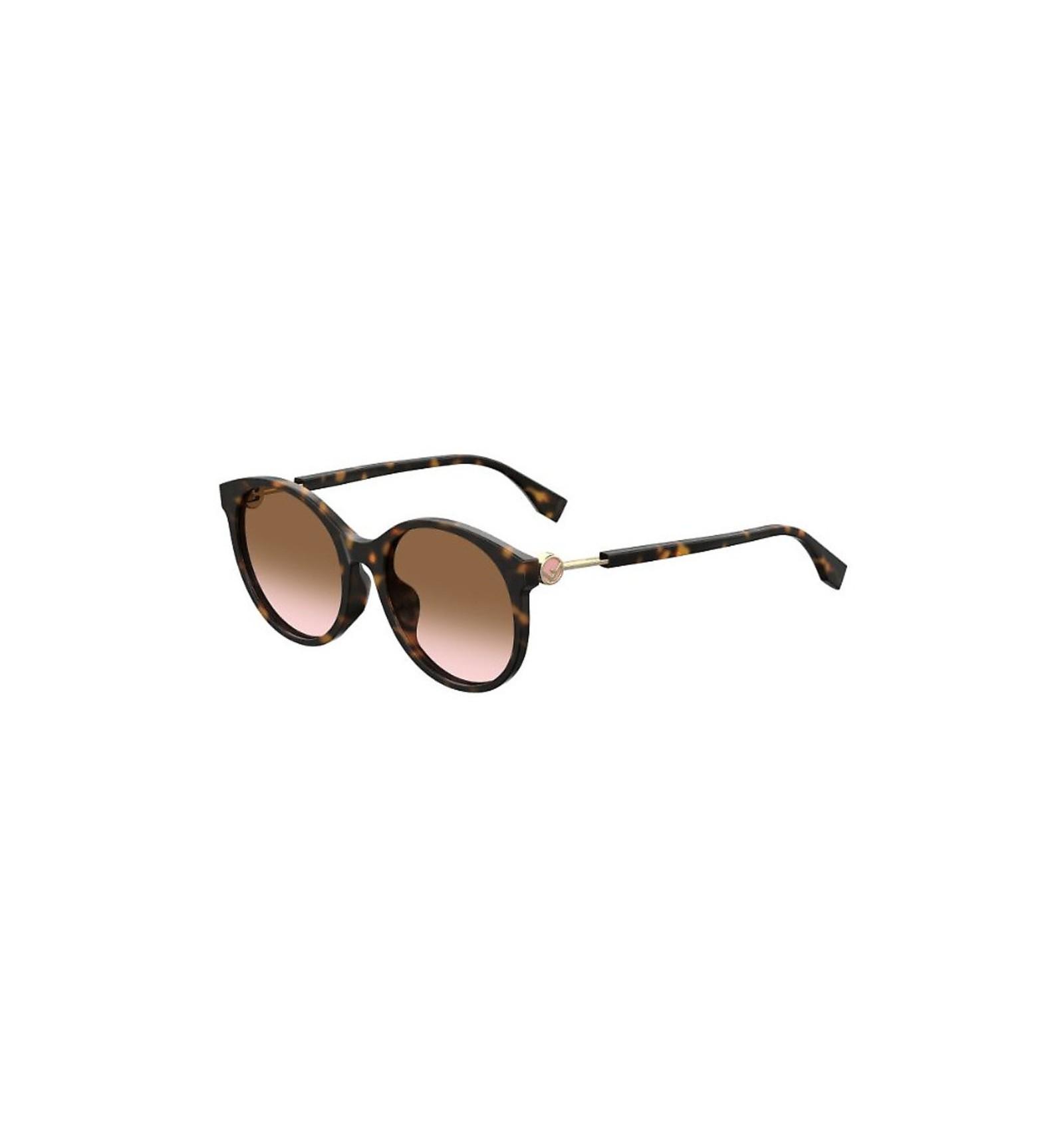 64f5f6c0f8 Nuevo 2019 Gafas de sol Fendi FF0362S Dark Havana - Brown Pink Sfumato  (086-M2)