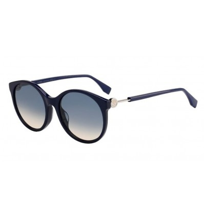 Gafas de sol Fendi FF0362S Blue - Blue Ds Peach (PJP-I4)