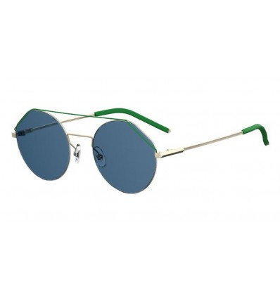 Ulleres de sol Fendi FFM0042S Light Gold - Blue Avio (3YG-KU)