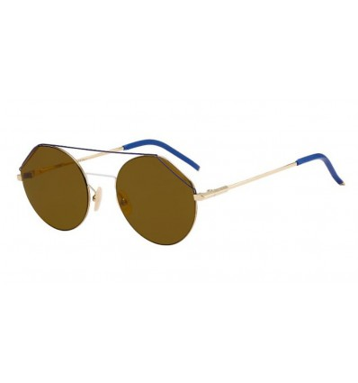 Gafas de sol Fendi FFM0042S Gold - Brown (J5G-70)