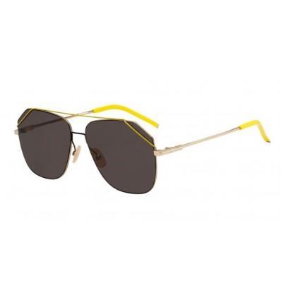 Gafas de sol Fendi FFM0043S Gold - Grey (J5G-IR)