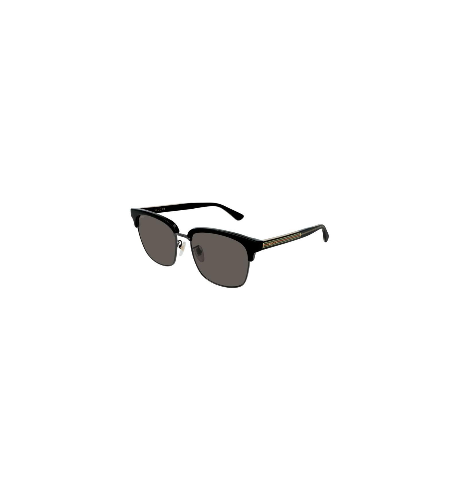 d585e51bf Nuevo 2019 Nuevo Gafas de Sol GUCCI GG0382S Black - Grey (001)