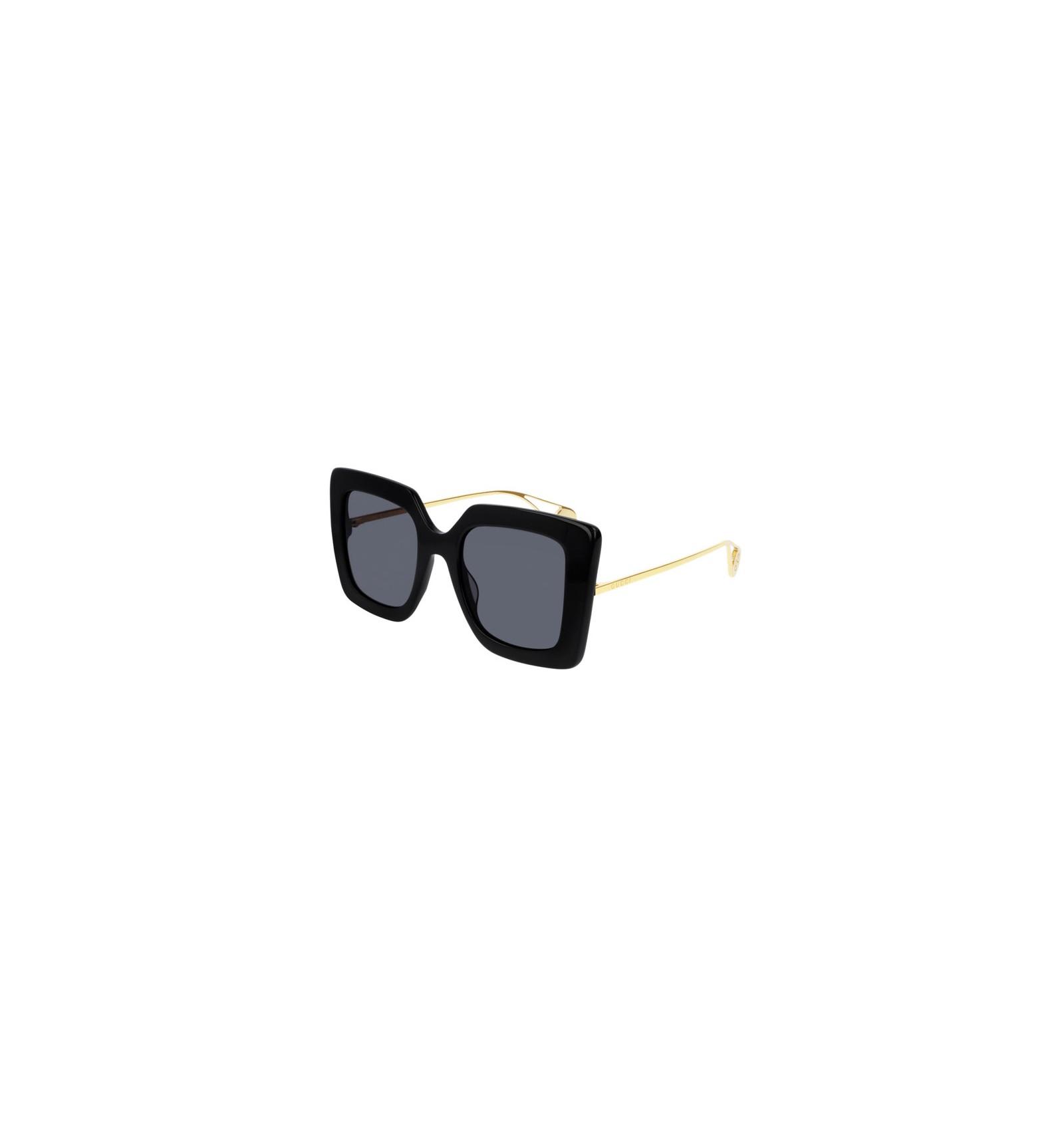 9ea9b2bdc03 Nuevo 2019 Nuevo Gafas de Sol GUCCI GG0435S Black - Grey (001)
