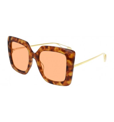 Ulleres de Sol GUCCI GG0435S Havana - Light Orange (002)